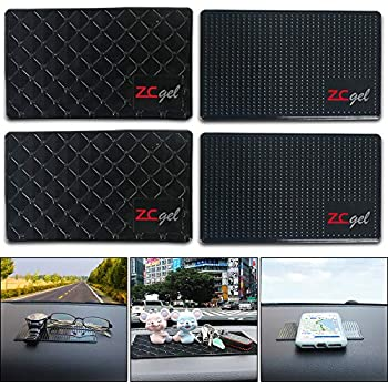 CD and Other Smooth Items Keyboard Auto Sport High Temperature Resistance Medium 7.5Inch Leather Surface Anti-Slip Non-Slip Mat Car Dashboard Pad Mat for Phone Electronic Devices Infiniti