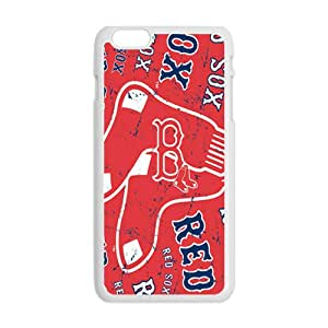 Red Sox Fashion Comstom Plastic case cover For Iphone 6 Plus