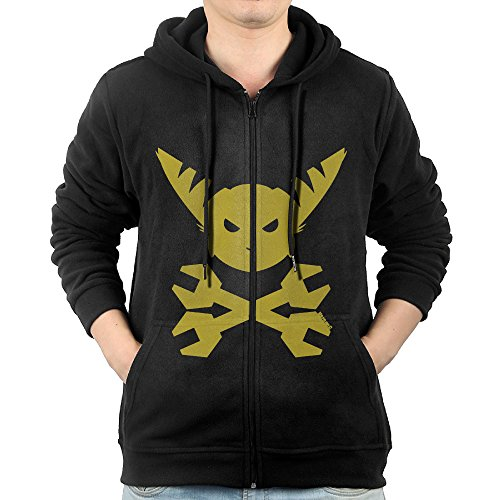 GGDDAA Mens Ratchet & Clank Head Hiking Classic Hoodie Sweatshirt Leisure Style XXL Black (Ratchet Costume)