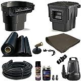 20 x 25 Medium Koi Pond Kit 4100 GPH Pump Oasis 16 Inch Waterfall Skimmer MDA0