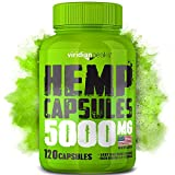 Hemp Oil Capsules 5000 MG - Efficient Pain, Anxiety & Stress Relief
