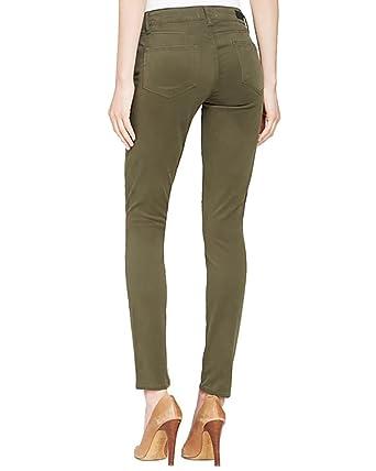 213760fcf0d3b Amazon.com: PAIGE Denim Women's Verdugo Ankle Skinny Jeans In Camo Green  (26): Clothing