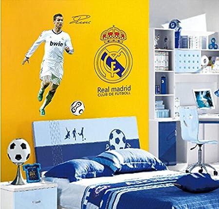 WallPicture Art-best Real Madrid Cristiano Ronaldo Logo adhesivo ...