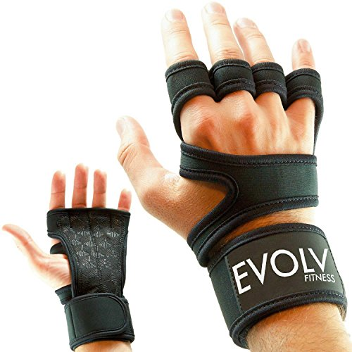 Xcrossfit Weight Lifting Gloves: CrossFit Weight Lifting Gloves With Wrist Support For WOD