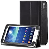 Poetic Samsung Galaxy Note Pro 12.2 / Tab Pro 12.2 Case [SlimBook Series] - Folio Case with Folding Cover Stand (SM-P900 / SM-P905 / SM-T900 / SM-T905) Black (3-Year Manufacturer Warranty from Poetic)