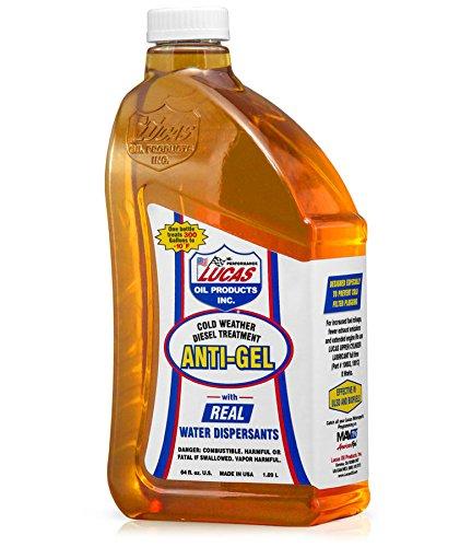 Lucas Oil 10866 Anti-Gel Cold Weather Diesel Additive – 64 fl. oz.