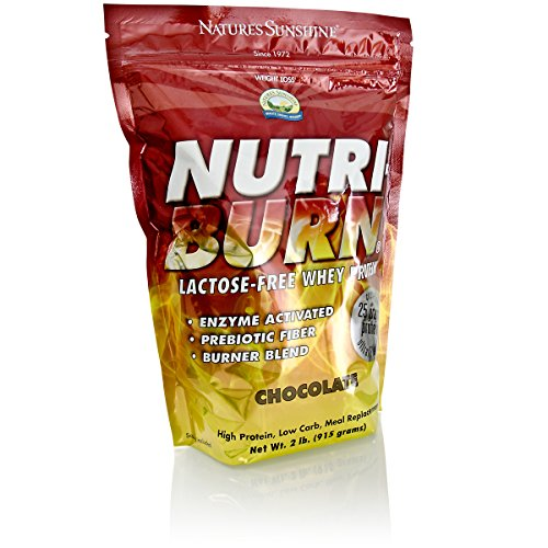 Nature's Sunshine Nutri-Burn Protein Matrix, Chocolate, 2lb | Meal Replacement Protein Shake with 25 Grams of Whey and Calcium Caseinate to Promote Lean Muscle Mass