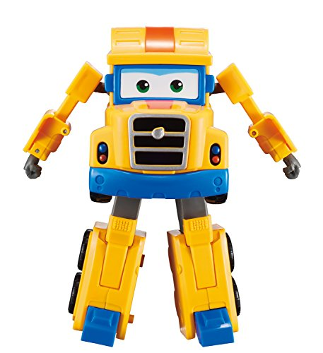 Super Wings - Transforming Poppa Wheels Toy Figure   Big Rig   Truck   Bot   5 Scale