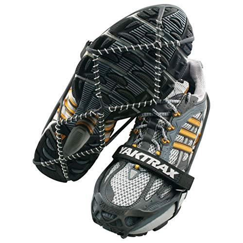Yaktrax Pro Traction Cleats for Walking, Jogging, or Hiking on Snow and Ice from Yaktrax