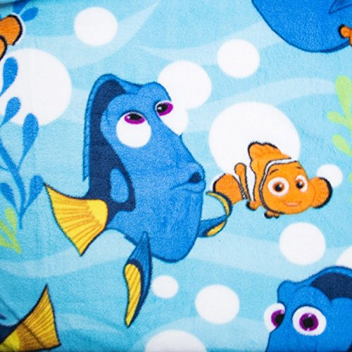 [Disney Pixar Finding Dory Nemo Children Teens Toddlers Super Soft Travel Blanket