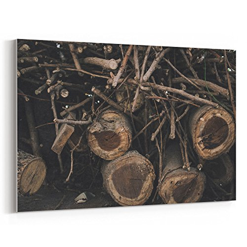 Westlake Art Madera Tree - 12x18 Canvas Print Wall Art - Canvas Stretched Gallery Wrap Modern Picture Photography Artwork - Ready to Hang 12x18 Inch (23F8-484FD)
