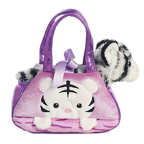 [Aurora World Fancy Pals Peek-A-Boo White Tiger Pet Carrier] (Peek A-boo Pals)