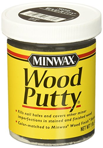 Minwax 236184444 Wood Putty, 1 lb, Ebony - 1 Stained Wood