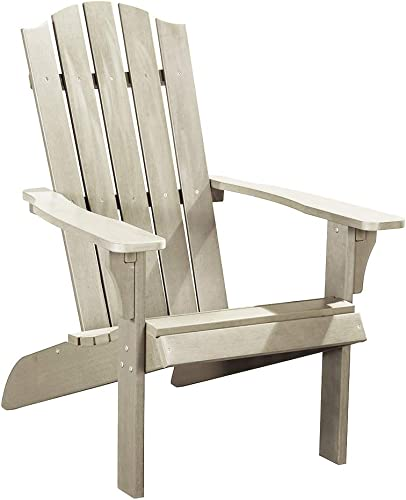 PolyTEAK Element Faux Wood Poly Adirondack Chair | Adult-Size