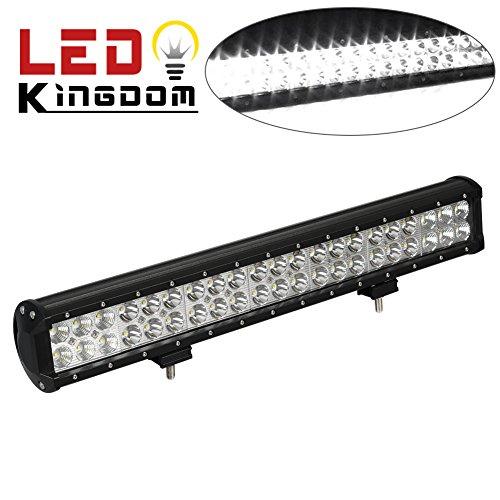20 pulgadas de luz led de la barra 126w led de trabajo de for Barra de luz led