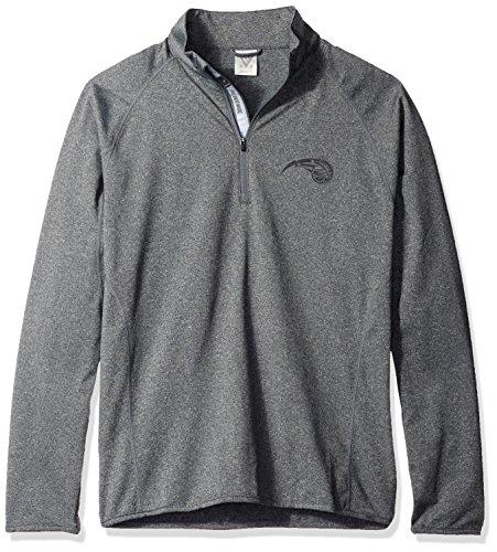 - Levelwear NBA Orlando Magic Men's Metro Tonal Shear Text Quarter Zip Jacket, Medium, Heather Charcoal