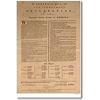Difference Between Declaration of Independence and the Constitution
