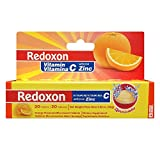 Redoxon Vitamin C With Zinc orange flavored Effervescent tablets 20 Ea 2.82 Oz (Pack of 11)