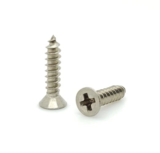 SNG99 Snug Fastener 100 Qty #6 x 3//4 Truss 304 Stainless Phillips Head Wood Screws
