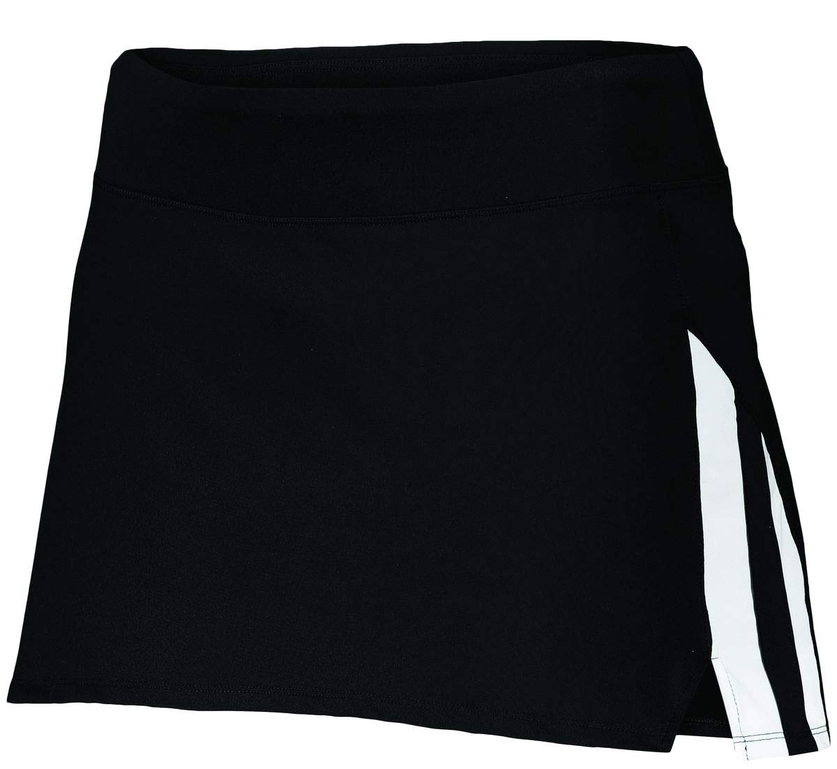 Augusta Sportswear Girls Full Force Skort L Black/White by Augusta Sportswear