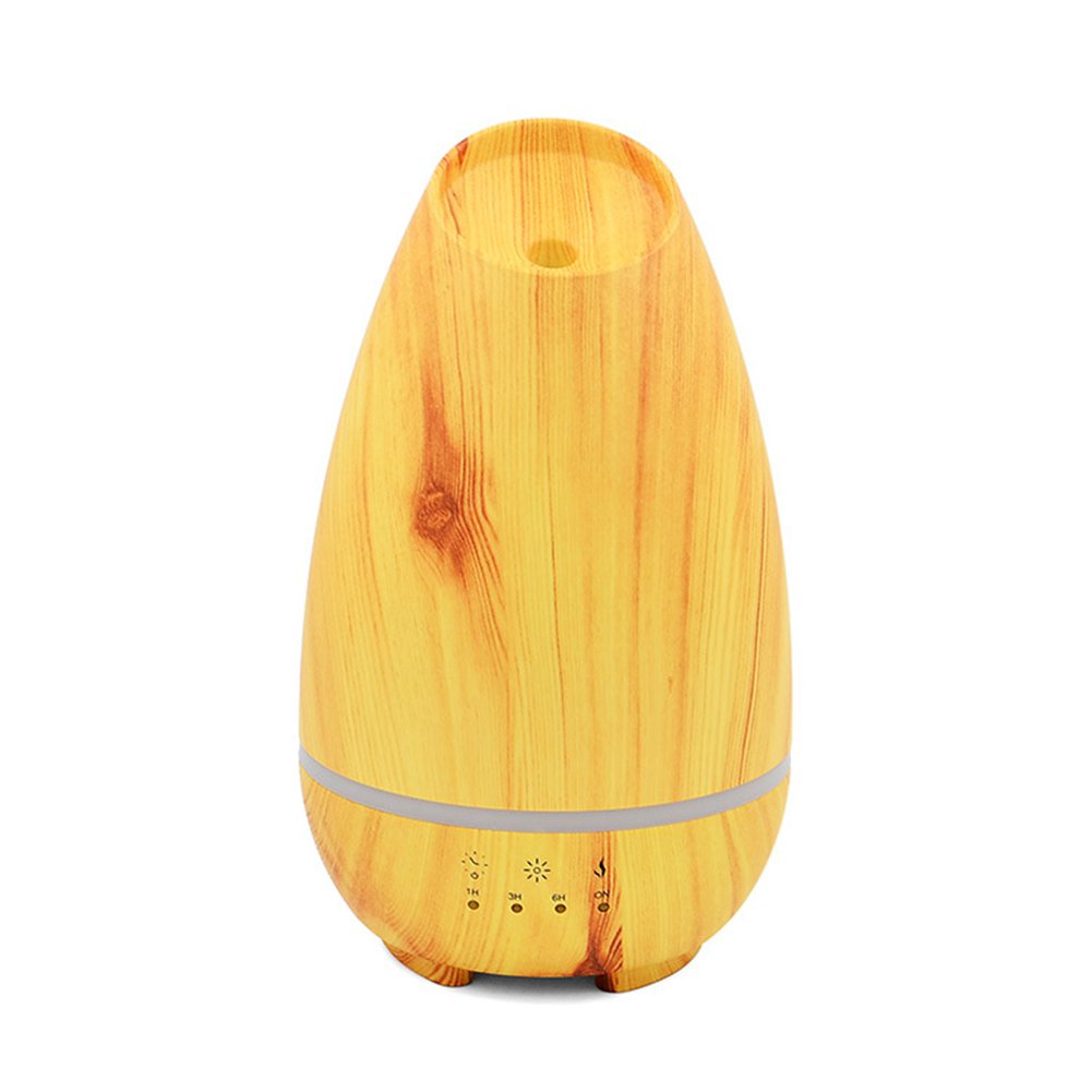 Fashionwu Wood Grain USB Charging Mini Humidifier Moisturizing Instrument Gift Air Purifier Decoration