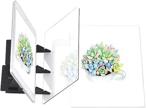 Zeichenprojektor Optisches Malbrett Optisches Zeichenbrett-Zeichenwerkzeug f/ür Kinder f/ür Anf/änger Sutinna Optisches Zeichenbrett Optisches Zeichenbrett