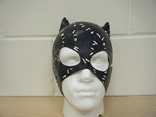 CATWOMAN BATMAN DELUXE LATEX HORROR HALLOWEEN FANCY DRESS COSTUME HEAD MASK by WRESTLING MASKS UK