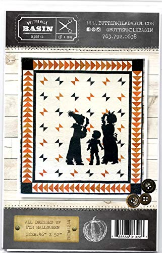 All Dressed Up for Halloween Quilt Pattern - by Buttermilk Basin - Wool Applique - BMB 1644 46