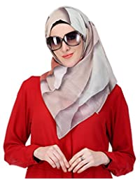 Modest Forever Brown Medley Print Casual Hijab