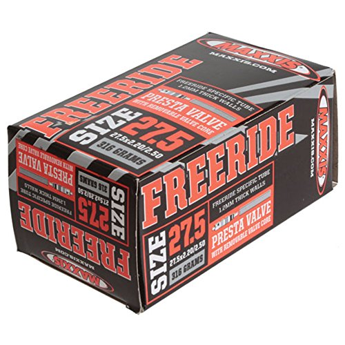 """Maxxis PV Freeride RVC Bicycle Tube, 27.5 x 2.2-2.5"""""""