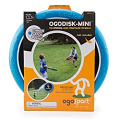 Our OgoSport Disk Set includes two disks that measure 12 inches in diameter and an OgoSoft ball perfect for outdoor or indoor play. The foam and spandex construction of the disk set make it waterproof and perfect for pool and beach play. Our ...