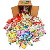 Your Favorite Mix Of Brand Name Candy! – 3 Pound Box of Gummi Bears, Tootsie Rolls, Skittles, Lemon Heads, Jaw Busters & More By Snackadilly (In a 6 inch cube box) Reviews