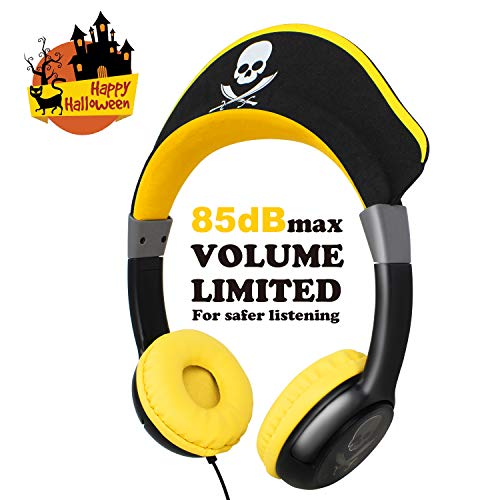 OneOdio Kids Wired Headphones, 85dB Volume Limited, Durable, Adjustable, Lightweight Headphones with 3.5mm Audio Jack, Kids Friendly Material headsets for Cellphones Smartphones iPhone iPod -