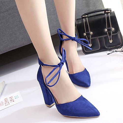Dony Women's shoes, high heel pointed female summer bandage sandals Thirty-five
