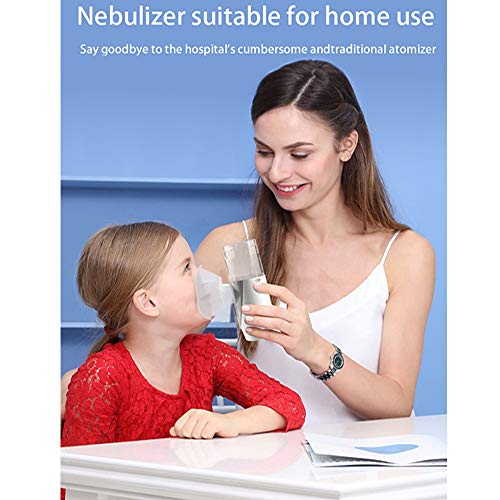 TDOU Medical-Level Portable Mini Vaporizers Machine UN201 Mesh Nebulizer for Kids/Adults with Automatic Cleaning for Asthma/Cold/Cough/Laryngitis/Bronchitis/Pneumonia Micro-Porous Atomizer