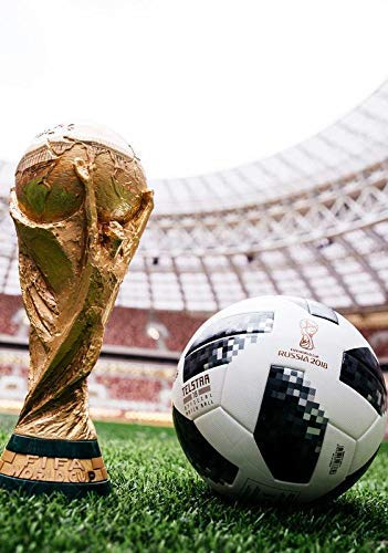 Copa del Mundo 2018 Trofeo and Smart Balón de Fútbol Póster 10946 ...