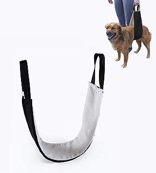 Arnés de apoyo ajustable para mascotas, arnés de elevación para ...