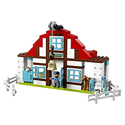 LEGO DUPLO Town Farm Adventures 10869 Buidling Bricks (104 Pieces): Toys & Games