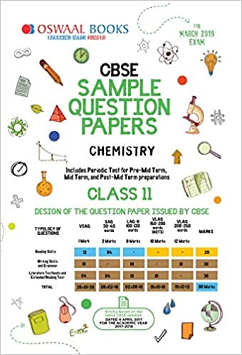 Oswaal CBSE Sample Question Paper Class 11 Chemistry For