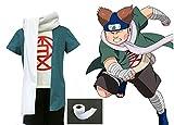 LYLAS Naruto Akimichi Choji Bundle Cosplay Costume (Male-XXL)