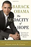Image of Audacity of Hope Thoughts on Reclaiming the American Dream [HC,2006]