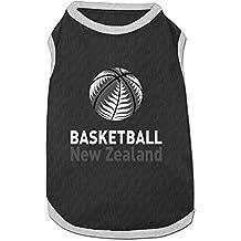 fan products of Nicokee Basketball New Zealand Puppy Dogs Shirts Costume Pets Clothing Warm Vest T-shirt Medium