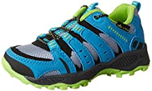 Lico Fremont, Zapatos de Senderismo Unisex Niños, Gris (Gr/Blau/Lemon Gr), 38 EU