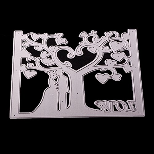 (Metal Cutting Dies Stencil Scrapbooking Photo Paper Cards Crafts Embossing DIY by Topunder R)