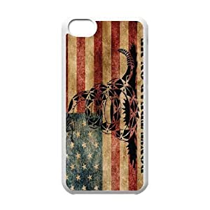 Don't Tread On Me ZLB520604 Customized Case for Iphone 5C, Iphone 5C Case