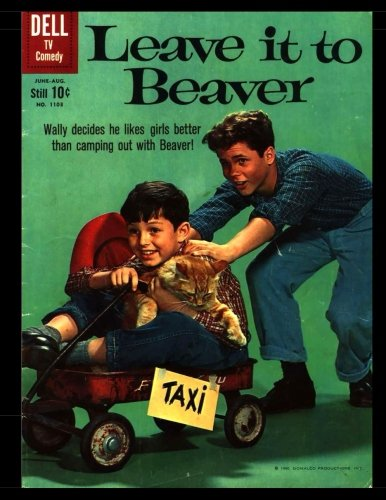 Leave it to Beaver #1103: Golden Age Humor Comic 1960 - Four Color #1103