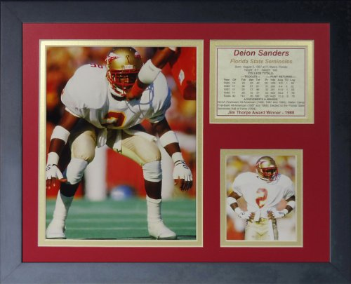 Legends Never Die Deion Sanders Florida State Collage Photo Frame, 11