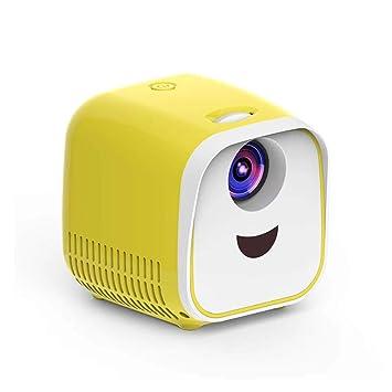 LLVV Mini proyector para niños 1000 lúmenes 320x240p Soporte Full ...
