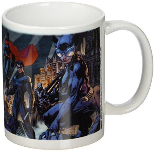 DC Comics Justice League Batman Family Ceramic Mug,