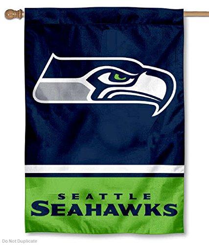 Fanmats Seattle Seahawks 3 Ft X 6 Ft Football Field: Seahawks Flags, Seattle Seahawks Flag, Seahawks Flag